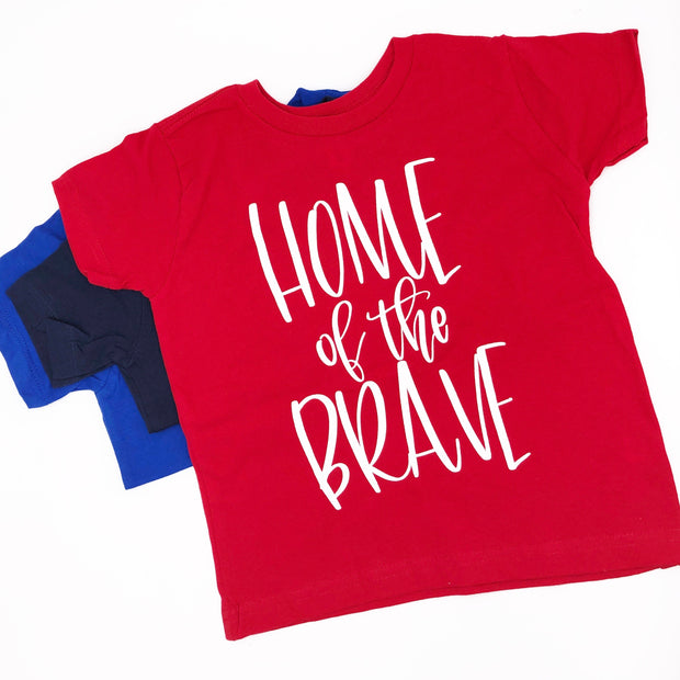 Home Of The Brave Baby/Toddler T-Shirts