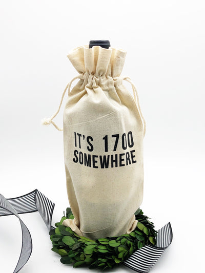 It's 1700 Somewhere Bottle Bag