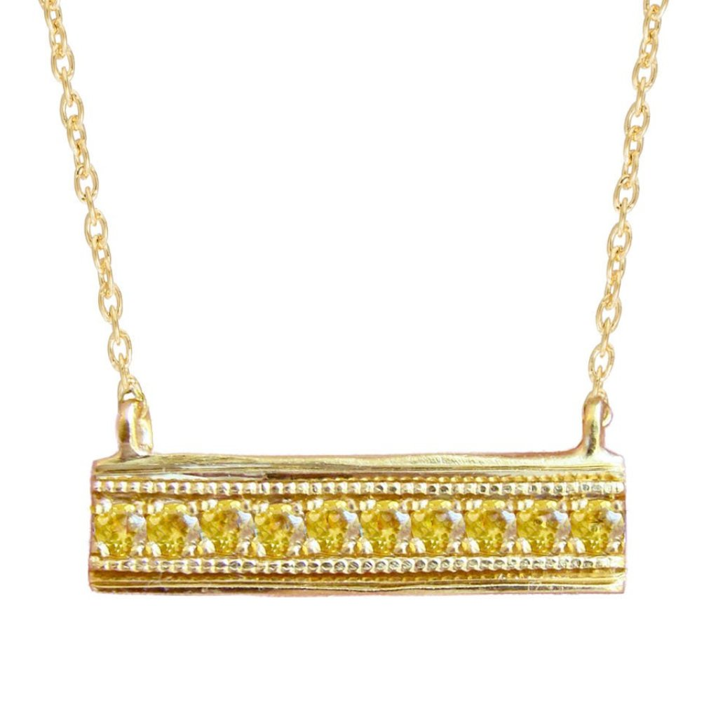 HONEY TIER NECKLACE, GOLD