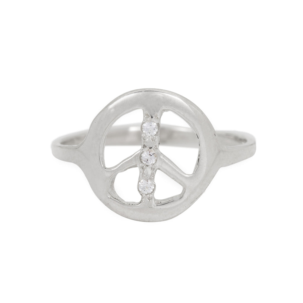 TOPAZ PEACE RING