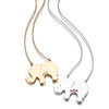 GOLD LUCKY ELEPHANT NECKLACE