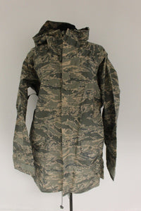USAF ABU Tiger Stripe Improved Rainsuit Parka, Size: Small