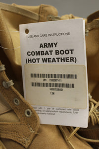 Rocky Hot Weather Army Combat Boot - Size 1.5W - New