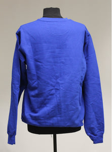 Port & Company Blue Sweatshirt, Size: Large