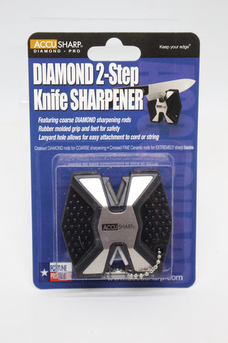 Accu Sharp Diamond 2-Step Knife Sharpener