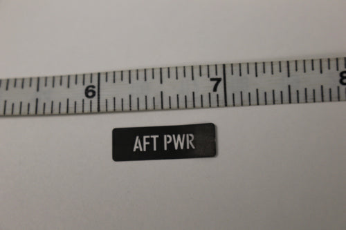 New 049174M Warning More Than One Power Source Label 7690-01-642-6620