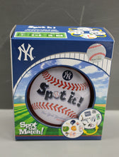 Load image into Gallery viewer, New York Yankee Spot It! Edition Baseball Party Card Game, Ages 7+, New!