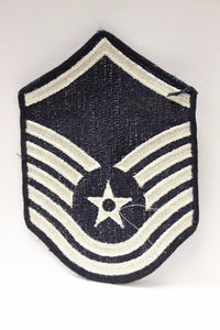 "AF Air Force Embroidered Chevron Master Sergeant E-7, Medium, 3.75"","