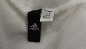 Adidas White/Grey Two Tone Hooded Windbreaker