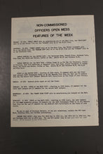 Load image into Gallery viewer, US Army Armor Center Daily Bulletin Official Notices, No 210, October 25, 1968