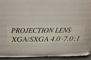KYOCERA DLP Projection Zoom Lens, 1.5 - 2.5:1, 03-02-5DKCA1990