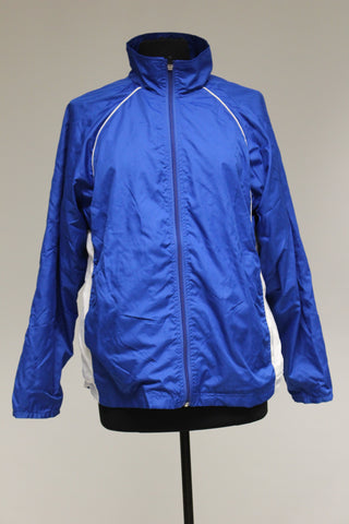 Game Sportswear Zip Up Jacket, Small, Blue