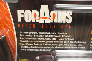 ForArms Upper Body Gym, Level 1, Level 3, Level 5, New