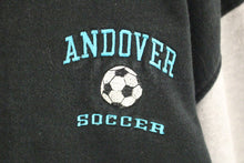 Load image into Gallery viewer, Andover Soccer Button Up Jacket Sweater, XLarge