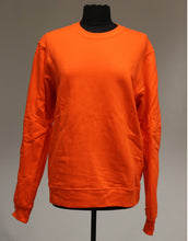 Load image into Gallery viewer, Port & Company Bright Orange Sweatshirt, Size: Medium