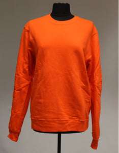 Port & Company Bright Orange Sweatshirt, Size: Medium