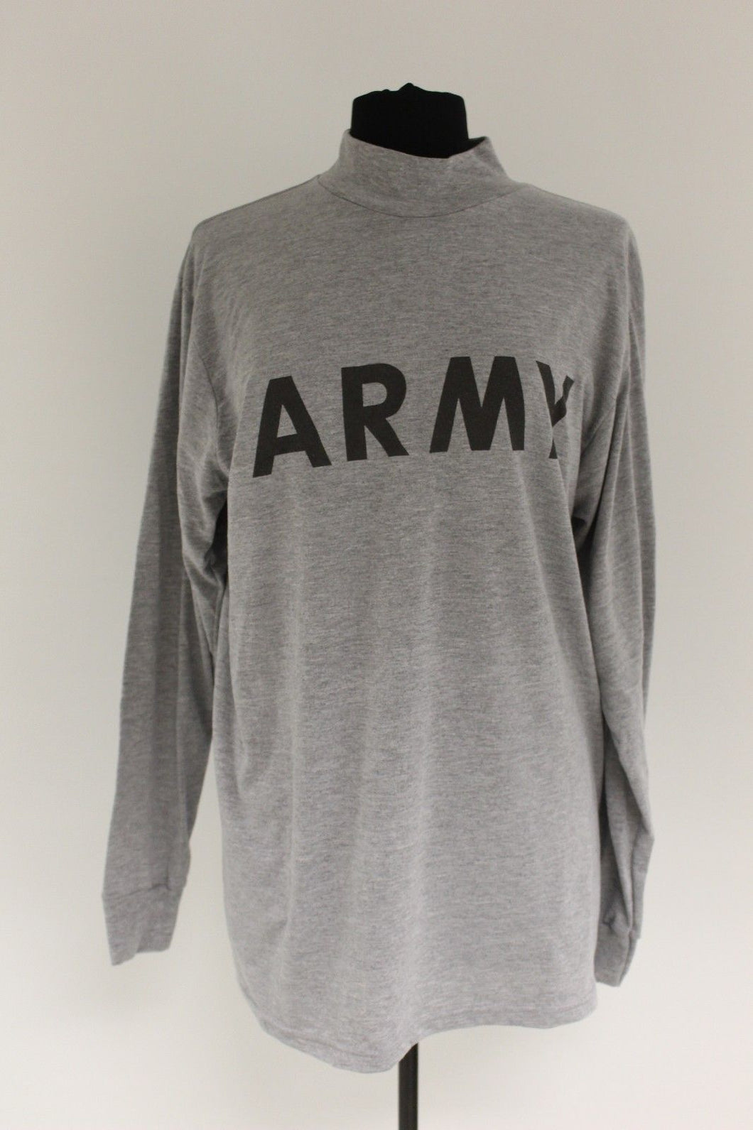 US Military Army Long Sleeve IFPU PT T-Shirt, 8415-01-465-7363, Medium