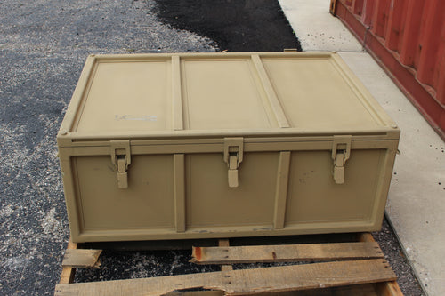 Electronic Communications Equipment Case, 5895-01-592-9909, Tan