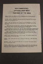 Load image into Gallery viewer, US Army Armor Center Daily Bulletin Official Notices, No 233, November 29, 1968
