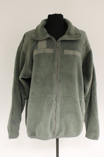 US Military Cold Weather Gen III Fleece Jacket, Sage Green, Large Regular
