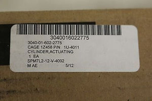 Caterpillar Actuating Linear Cylinder Tube, NSN 3040-01-602-2775 PN 1U-4011 New