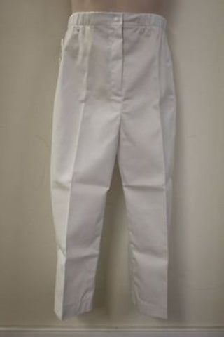 Military Women's White Dress Slacks/Pants Size: 6X Short, 8410-01-277-0621, New