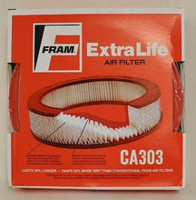 Load image into Gallery viewer, Fram Extra Life CA303 Air Filter, 2940-00-350-9316, NEW!