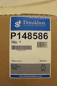 Donaldson Intake Air Cleane Filter, P/N: P148586, NSN: 2940-01-524-7928, New!