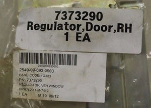 Regulator, Vehicle Window, Door, RH, PN 1588E3, KC6676 New