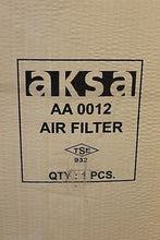 Load image into Gallery viewer, AKSA AA 0012 Air Filter