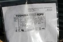 Load image into Gallery viewer, Toshiba Induction Motor, NSN 6105-530-1607, Model 4K4020L187912, New!