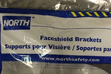 North Safety CP5005 Faceshield Bracket, Black, New
