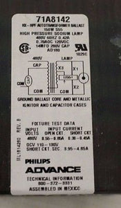 Philips Advance Core & Coil Ballast Kit with Prewired Ignitor, PN 71A8142-001D