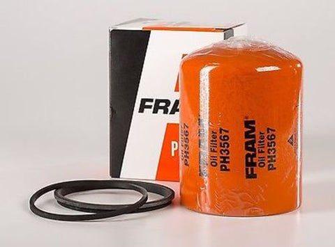 FRAM PH3567 Engine Oil Filter With Flat Gasket, New In Box