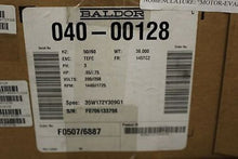 Load image into Gallery viewer, Baldor Motor, PN 040-00128, NSN 6105-01-531-3031, NEW!
