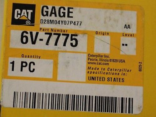 Caterpillar Dial Indicating Differential Gage NSN 6685-01-476-1420 PN 6V7775