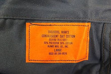 Load image into Gallery viewer, US Army Convalescent Summer Weight Trousers, 6532-00-299-8078, Large, Blue NEW!
