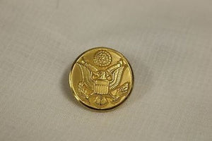 US Army Dress Uniform Button, WATERBURY, 7/8""
