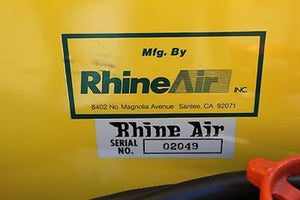 Rhine Air Inc, Mdl NF 21-1, High Pressure Ambient Air Breathing Pump, New