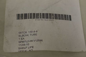 Tube Elbow, NSN 4730-01-412-9585, P/N 13088, NEW!