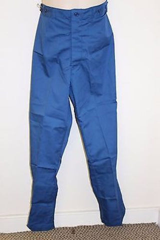 US Army Convalescent Summer Weight Trousers, 6532-00-299-8078, Large, Blue NEW!
