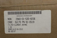 Load image into Gallery viewer, Universal Silencer Intake Air Filter, NSN 2940-01-535-8206, NEW!