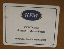 Load image into Gallery viewer, KFM 1 Micron Filters, Set of 4, New!