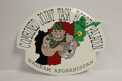 Combined Joint Task Force Paladin, Bagram Afghanistan Window Decal