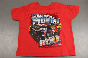 "Juan Pablo Montoya #42 Nascar ""That's How I Roll"" Childrens T-Shirt Size: 3T, New!"
