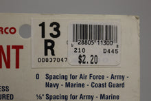 Load image into Gallery viewer, Loma Linda-Cherrco Unimount 13R 1/8 Spacing Military Ribbon Star