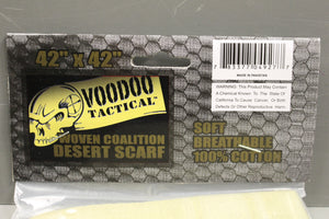 Voodoo Tactical Coalition Shemagh Arab Head Scarf - Coyote Tan