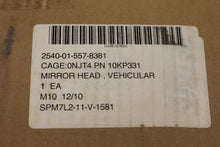 Load image into Gallery viewer, Cargo Truck Vehicular Mirror, NSN 2540-01-557-8381, P/N 10KP331, NEW!