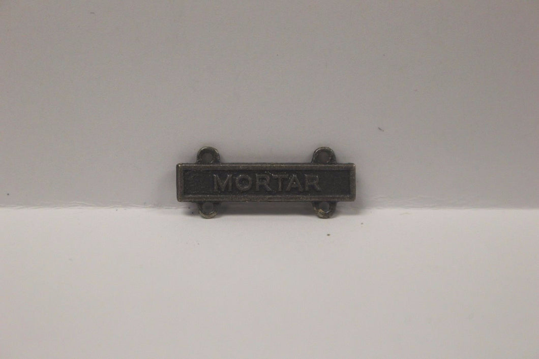 US Army Marksmanship Badge Qualification Bar - Mortar Bar