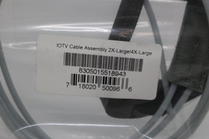 US Military 10TV Cord Cable Assembly, 8305-01-551-8943, 2X-Lg/4X-Lg, New!